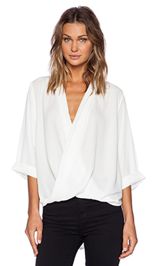 Bardot Georgette Lexus Top in Ivory