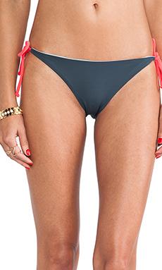 Basta Surf Raglan String Bikini Bottom in Resina & Light Blue & Bunny