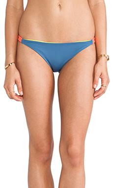 Basta Surf Bujama Bungee Bandeau Bikini Bottom in Yacht, Beatz & Coral