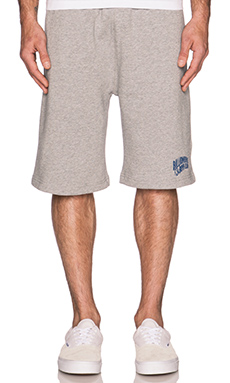 Billionaire Boys Club Small Arch Logo Sweatshort in Heather Grey