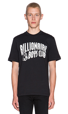 Billionaire Boys Club Arch Logo Classic Tee in Black