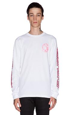 Billionaire Boys Club Neon Tee in White