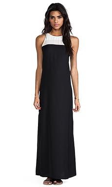 BB Dakota Sola Maxi Dress in Black