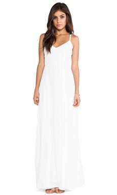 BB Dakota Loulla Maxi Dress in Optic White