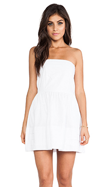 Jack by BB Dakota Megalyn Strapless Dress in White