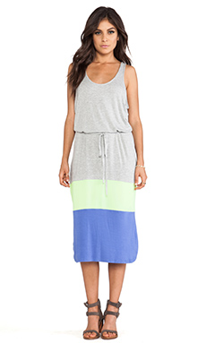 Jack by BB Dakota Carla Jersey Maxi Dress in Light Heather Grey