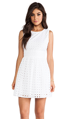 Jack by BB Dakota Macall Mini Dress in White