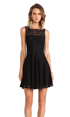 BB Dakota Cyrus Lace Dress in Black