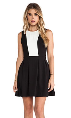 Jack by BB Dakota Barrett Dress in Black & White