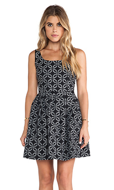 Jack by BB Dakota Dallias Tank Dress in Black & White