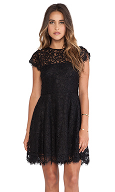 BB Dakota Rylin Lace Dress in Black