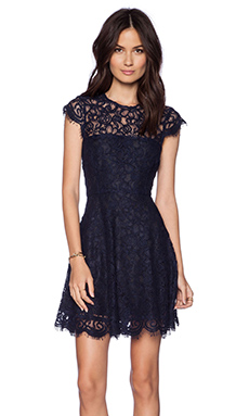 BB Dakota Rylin Lace Dress in Oilslick