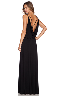 Dakota Collective by BB Dakota September Maxi Dress in Black
