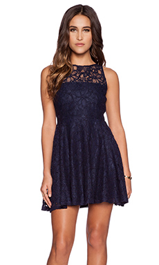 BB Dakota Fenton Dress in Navy