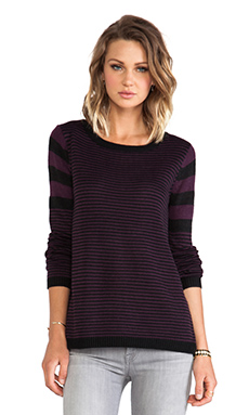 Jack By BB Dakota Burton Pullover in Potent Purple