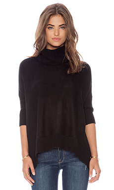 Dakota Collective by BB Dakota Heather Turtleneck in Black