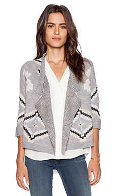 Jack by BB Dakota Wallis Cardigan in Lt. Heather Grey