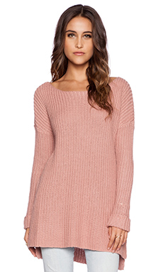 Dakota Collective by BB Dakota Xylon Sweater in Nude Protest