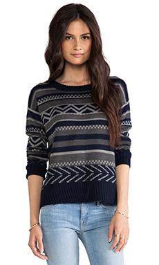 BB Dakota Addie Pattern Sweater in Medium Heather