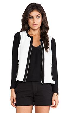 BB Dakota Lahan Jacket in Dirty White & Black