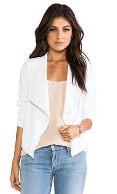 BB Dakota Korina Jacket in Optic White