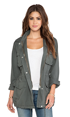 BB Dakota Mags Military Jacket in Surplus Green