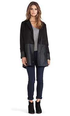 Jack by BB Dakota Rory Over-sized Jacket in Black