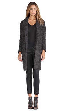 BB Dakota Rilo Over-sized Jacket in Charcoal