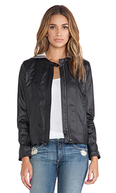 Jack by BB Dakota Vincent Jacket in Black