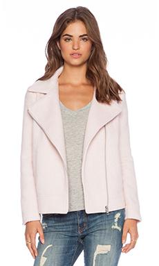 BB Dakota Emmett Moto Jacket in Powder Pink