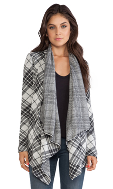 BB Dakota Sonata Plaid Jacket in Black