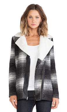 Jack by BB Dakota Aliso Jacket in Black & White