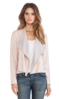 BB Dakota Patina Jacket in Light Nude