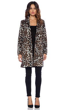 BB Dakota Hazel Coat in Leopard