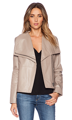 BB Dakota Keaton Leather Jacket in Goat