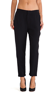 Jack By BB Dakota Farber Challis Pant in Black