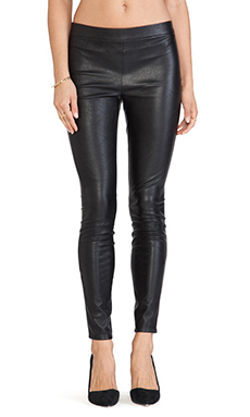 BB Dakota Tansy Faux Leather Legging in Black