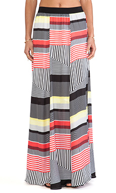 BB Dakota Iverson Capetown maxi Skirt in Black