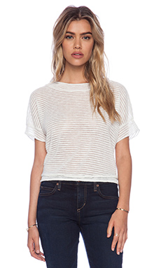 Dakota Collective by BB Dakota Abril Short Sleeve Top in Natural
