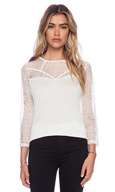 Jack by BB Dakota Mariel Top in Ivory