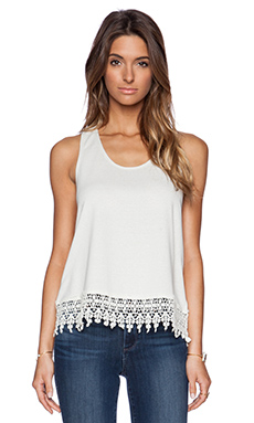Jack by BB Dakota Nieve Tank in Ivory
