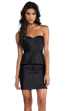 BCBGMAXAZRIA Karina Strapless Dress in Black