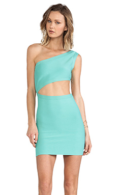 BCBGMAXAZRIA Courte Dress in Aqua