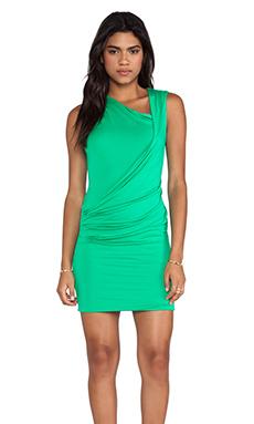 BCBGMAXAZRIA Ainsley Dress in Light Evergreen