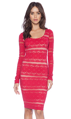 BCBGMAXAZRIA Tanya Dress in Sangria