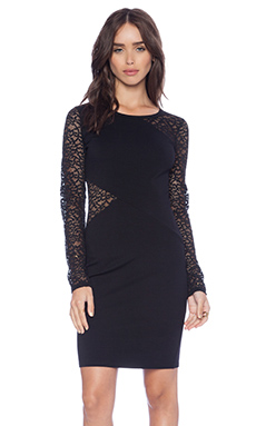 BCBGMAXAZRIA Jorden Dress in Black