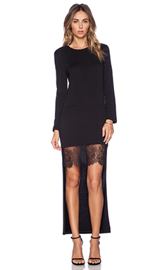 BCBGMAXAZRIA Knit Dress in Black