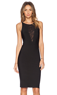 BCBGMAXAZRIA Jaydan Dress in Black