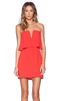 BCBGMAXAZRIA Kate Dress in Red Berry