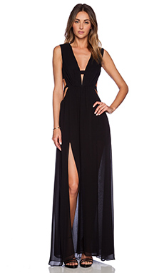 BCBGMAXAZRIA Alda Dress in Black
